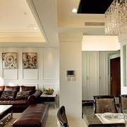 时尚客厅整体设计