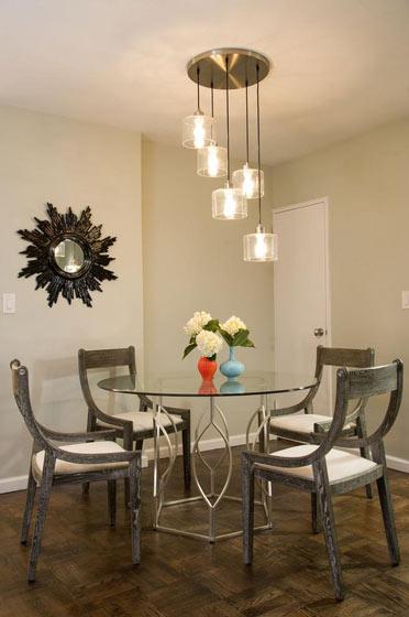 个性吊灯来搭配 温馨餐厅设计
