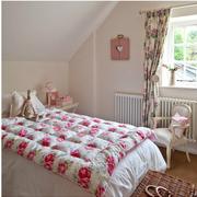 唯美型卧室窗帘设计