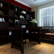中式传统的书房沙发