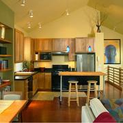 厨房简约小吧台