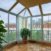 阳台落地窗效果图片