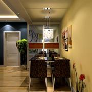 简约风格餐厅装修设计