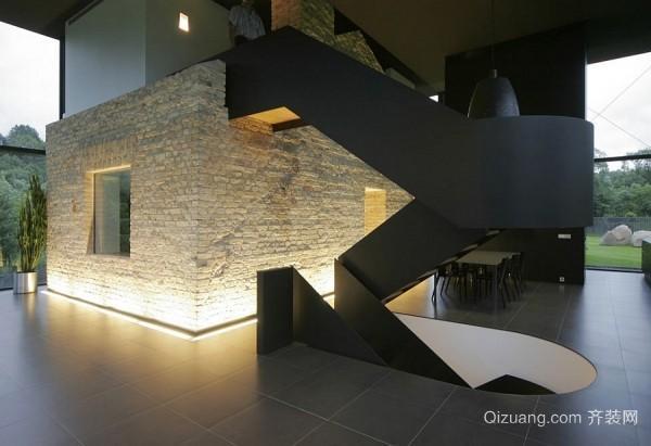 二层创意复式旋转楼梯集锦