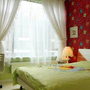清新型儿童房效果图