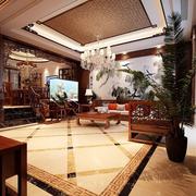 大型别墅客厅吊顶