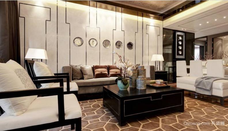 古色古香的中式风格单身公寓装修效果图