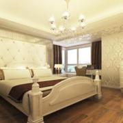 米白色温馨卧室