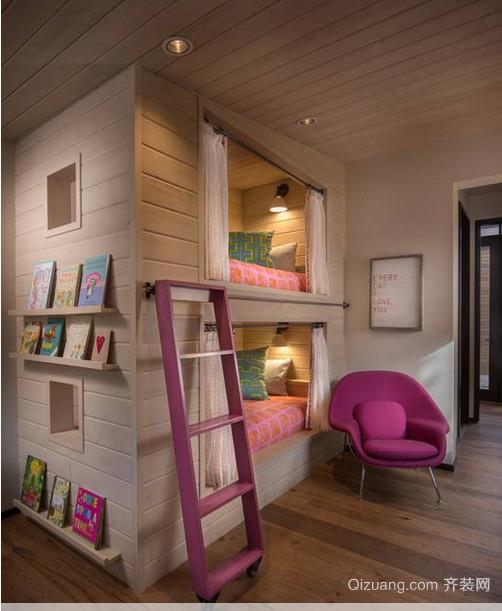 现代简约风格儿童房装修效果图
