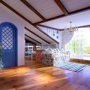 阁楼木地板设计大全