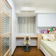 小户型人家儿童卧室
