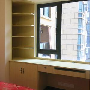 复式楼简易书架装修效果图