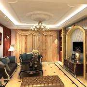 奢华优雅客厅图片