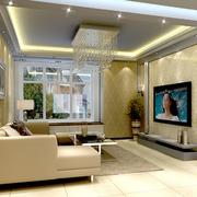 明亮宽敞客厅图片