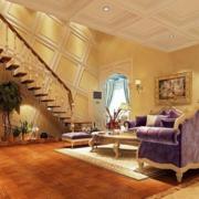 客厅楼梯装修大全