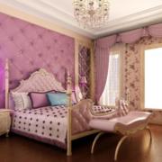 粉紫色浪漫卧室