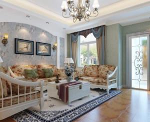 宜家风格客厅效果图片