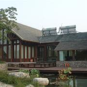 舒适自然的别墅