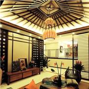 东南亚异域特色客厅