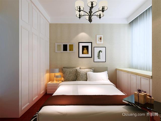 后现代一居卧室榻榻米装修效果图