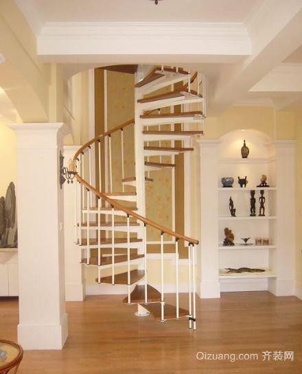 复式楼家用楼梯装修效果图