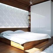 卧室白色衣柜欣赏