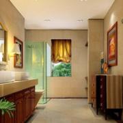 现代美式卫生间图片