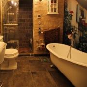 美式复古卫生间
