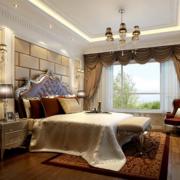 豪华气派的卧室