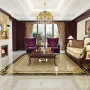 豪华美式别墅客厅
