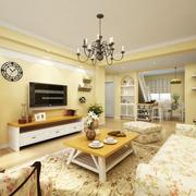 悠闲舒适客厅图片
