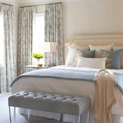 卧室窗帘装修设计