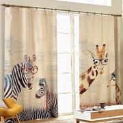 深色调窗帘装修设计