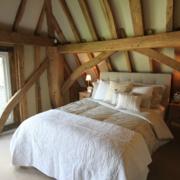 阁楼原木卧室吊顶装饰