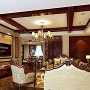 大户型豪华客厅设计