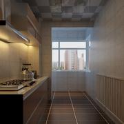 现代简约厨房展示