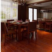 餐厅木地板效果图片