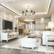 简欧式的客厅图片