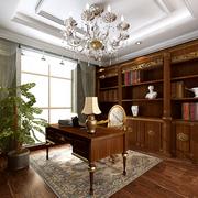 书房生态木地板欣赏