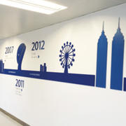 美观有意义企业背景墙