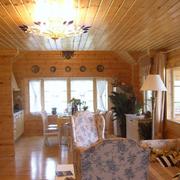 木屋室内装潢欣赏