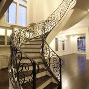 楼梯铁艺扶手欣赏