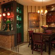 别墅餐厅效果图片