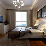 现代俊秀的卧室