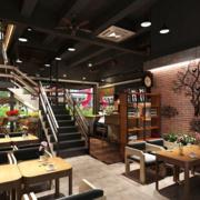 小户型咖啡厅墙面装饰