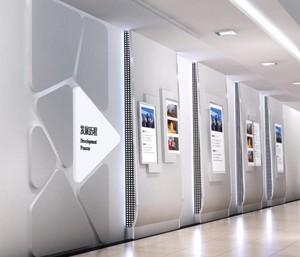 中国500强企业文化背景墙