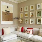 充满爱意的客厅照片墙