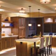 经典现代美式厨房