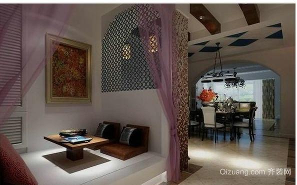 现代浪漫客厅榻榻米床装修效果图