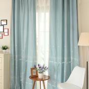 大户型客厅窗帘图片